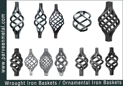 Wrought Iron Square Collars Bushes Manufacturers And Ornamental Exporters From India