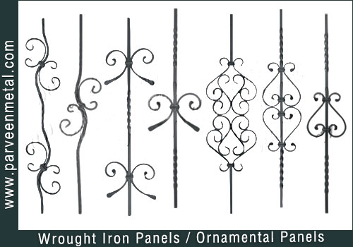 Wrought Iron Components And Ornamental Hardware For Gates Parts Fences Manufacturers Exporters In India Usa Uk America Uae Dubai Australia
